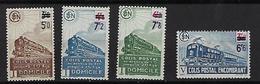 """FR Colis Postaux YT 226A à 229A """" Avec  Filigrane Valeur En Surcharge """" 1945 Neuf** - Paketmarken"""