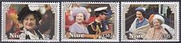 Niue 1985 Geschichte History Persönlichkeiten Herrscher Königshäuser Royals Königinmutter Elisabeth, Mi. 618-0 ** - Niue