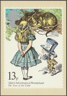 Alice's Adventures In Wonderland, 13p, 1979 - Royal Mail Stamp Card PHQ 37d - Stamps (pictures)