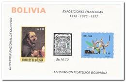 Bolivië 1974, Postfris MNH, Flowers, Orchids - Bolivië