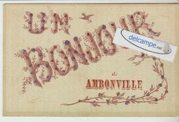 AMBONVILLE : Un Bonjour,Brillants. - Ohne Zuordnung