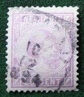 Prinses Wilhelmina 25 Ct NVPH 27 1892-1897 Gestempeld / Used NEDERLAND INDIE / DUTCH INDIES - Indes Néerlandaises