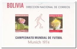 Bolivië 1973, Postfris MNH, Cacti, Football - Bolivië