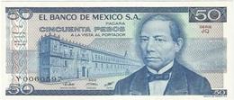 México 50 Pesos 27-1-1981 JQ Pick 73 UNC - México