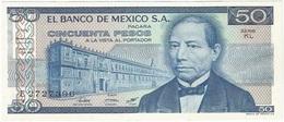 México 50 Pesos 27-1-1981 KL Pick 73 UNC - México