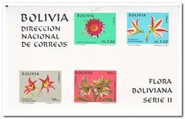 Bolivië 1971, Postfris MNH, Flowers - Bolivië