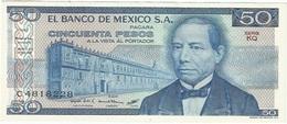México 50 Pesos 27-1-1981 KQ Pick 73 UNC - México