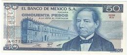 México 50 Pesos 27-1-1981 KU-KV Pick 73 UNC - México