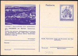 Austria/Autriche: Intero, Stationery, Entier, Stazione Di Cura, Poste De Soins Infirmiers, Nursing Station - Salute
