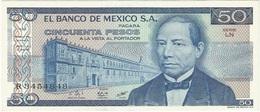 México 50 Pesos 27-1-1981 LN Pick 73 UNC - México