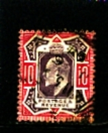 GREAT BRITAIN - 1902  EDWARD VII  10d  PURPLE & CARMINE  FINE USED  SG 255 - 1902-1951 (Re)