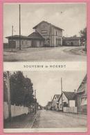 67 - SOUVENIR De HOERDT - Gare - Bahnhof - 3 Scans - Unclassified