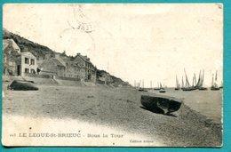 22 - Le Légué St Brieuc  Sous La Tour   éditeur Armor - Cpa -    2 Scans , état B - 1904 - Ile De Bréhat