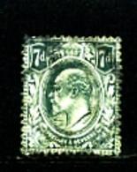 GREAT BRITAIN - 1910  EDWARD VII  7d  GREY-BLACK  FINE USED  SG 249 - 1902-1951 (Re)