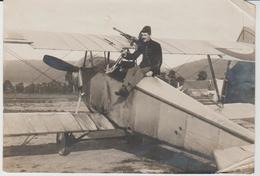 Lot De 4 Photos AVION  NIEUPORT D'escadrille De Chasse 1916 - War, Military