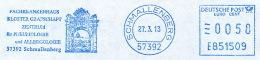 Freistempel 0833 Kloster Grafschaft Schmallenberg - Marcophilie - EMA (Empreintes Machines)
