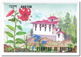 Bhutan 1994, Postfris MNH, Flowers - Bhutan