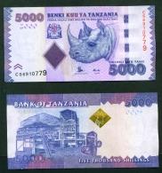 TANZANIA  -  2015  5000 Shillings  UNC Banknote - Tanzanie