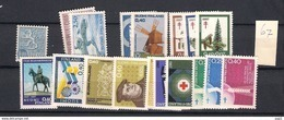 1967 MNH Finland, Year Complete According To Michel, Postfris - Finland