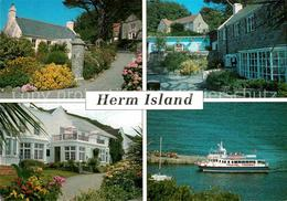 72890649 Herm Island Harbour Cottage The Gift Shops White House Hotel Travel Tri - Island