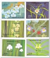 Bhutan 1990, Postfris MNH, Flowers, Orchids - Bhutan
