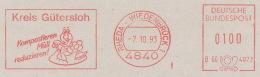 Freistempel 0955 Regenwurm Kompost Müll - [7] República Federal