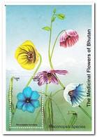 Bhutan 1993, Postfris MNH, Flowers - Bhutan