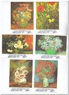Bhutan 1991, Postfris MNH, Flowers, Paintings, Vincent Van Gogh - Bhutan