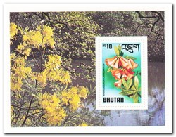 Bhutan 1976, Postfris MNH, Flowers - Bhoutan