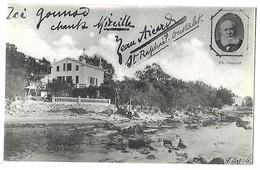 83 ST RAPHAEL OUSTALET - ICI GOUNOD CHANTA MIREILLE  CPA 2 SCANS - Saint-Raphaël