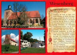 73208377 Wesenberg_Mecklenburg Kirche Hafen Chronik Wesenberg_Mecklenburg - Allemagne