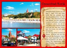 73208384 Rerik_Ostseebad Strand Hafen Cafe Chronik Rerik_Ostseebad - Allemagne
