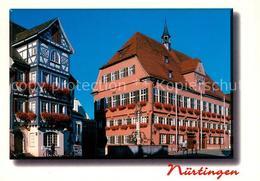 73209066 Nuertingen Rathaus Brunnen Nuertingen - Deutschland
