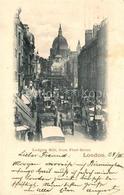 43104253 London Ludgate Hill From Fleet Street London - London