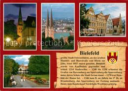 73210145 Bielefeld Rathaus Kirche Panorama Bielefeld - Sin Clasificación