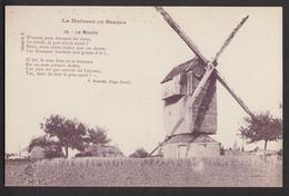 La Moisson En Beauce - Le Moulin - Attelages