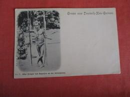 Gruss  Aus Deutsch  New Guinea   Ref 2939 - Guinea Equatoriale