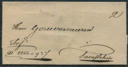 Circa 1820 Finland Kuopio Wrapper, Vorphilatelie Hulle - Finland