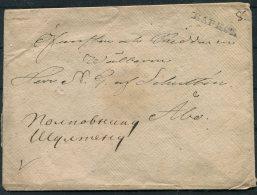 Circa 1830 Finland Karis Cover Briefhulle - Abo - Finland