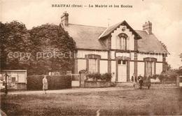 13108325 Beaufai La Mairie Et Les Ecoles Beaufai - France