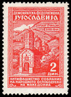 Yugoslavia 1945 1st Anniv Of Anti-Fascist Chamber Of Deputies Macedonia Unmounted Mint. - 1945-1992 Socialist Federal Republic Of Yugoslavia