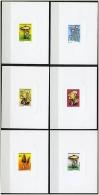 TCHAD CHAMPIGNONS, CHAMPIGNON, MUSHROOM, Setas, Yvert N°478/83( Epreuves De Luxe) ** MNH - Paddestoelen