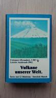 Zündholzschachtel Mit Einem Vulkan (Cotopaxi) Von ZÜNDIS Aus Deutschland - Zündholzschachteln