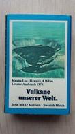 Zündholzschachtel Mit Einem Vulkan (Mauna Loa Auf Hawaii) Von ZÜNDIS Aus Deutschland - Zündholzschachteln