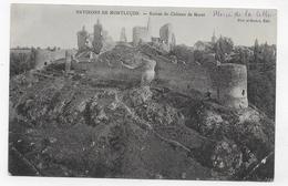 (RECTO / VERSO) RUINES DU CHATEAU DE MURAT - PLIS AUX ANGLES - CPA VOYAGEE - Otros Municipios