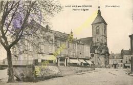 70.  SAINT LOUP Sur SEMOUSE .  Place De L'église . - Autres Communes