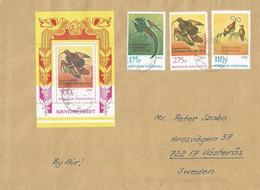 Indonesia 1983 Djakarta Bird Of Paradise Michel Block 53 Cover. Rare - Indonésie