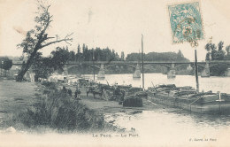 78 // LE PECQ    Le Port  / PENICHE - Le Pecq