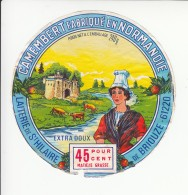 Etiquette De Fromage Camembert - St Hilaire De Briouze. - Fromage