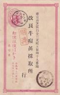 Carte ^postales Voir,obliterations SCANNES - Japon